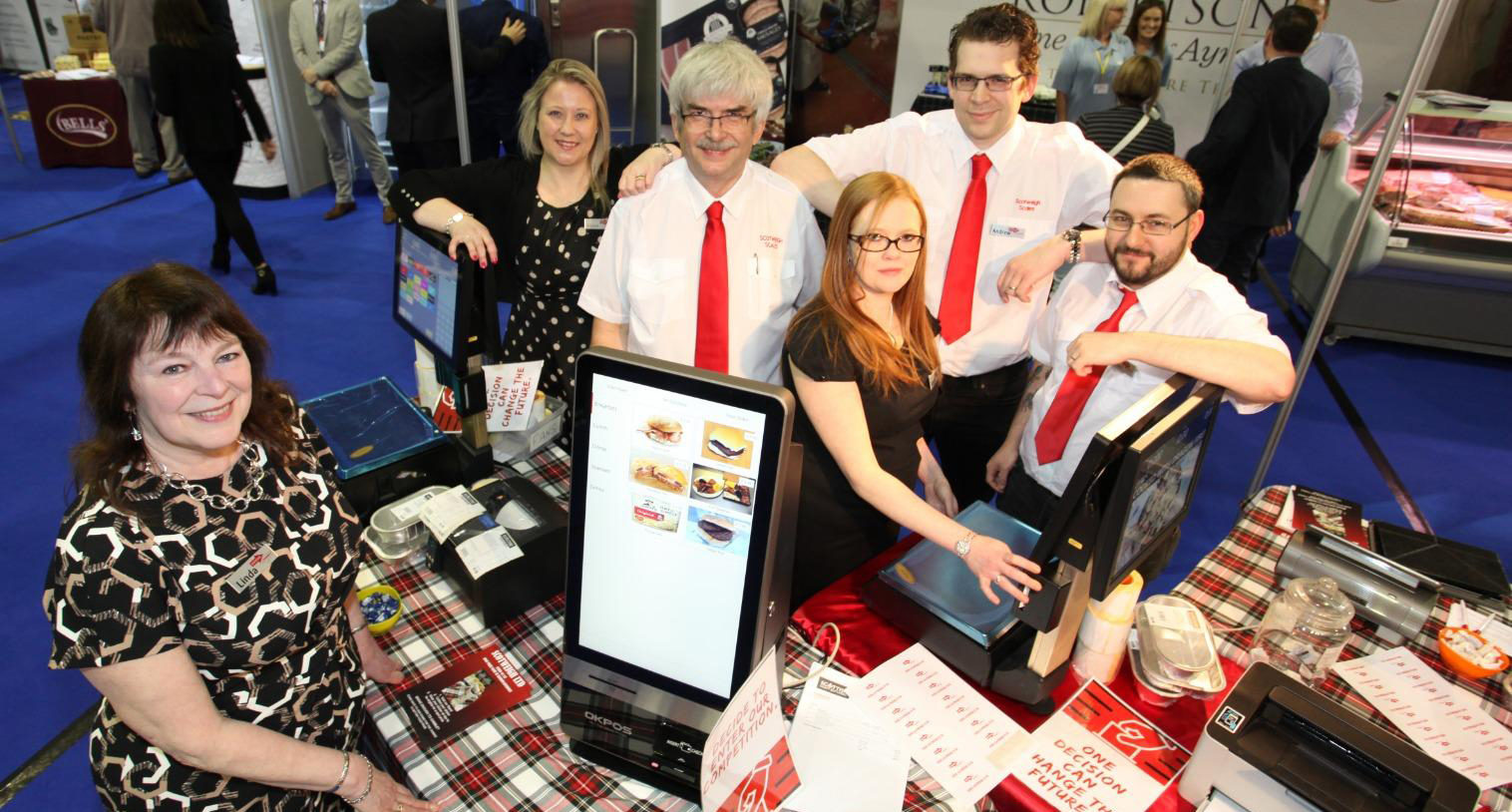 The Scotweigh Team at the Craft Butchers Trade Fair